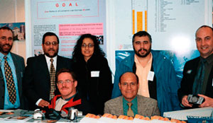 Participants at EXPOMIN in Santigo (Chile) 2004