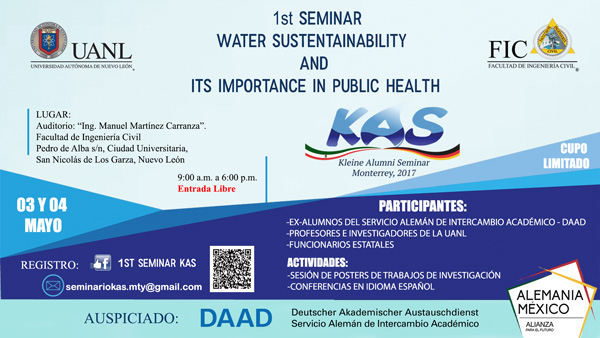 Poster of Kleine Alumni Seminar 2017 reflects information below